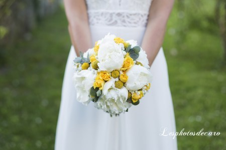 photo mariage bouquet