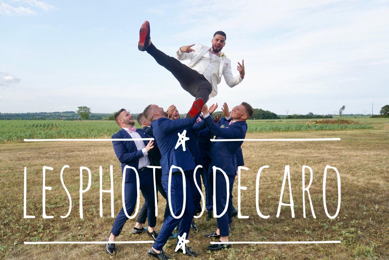 photo mariage fun