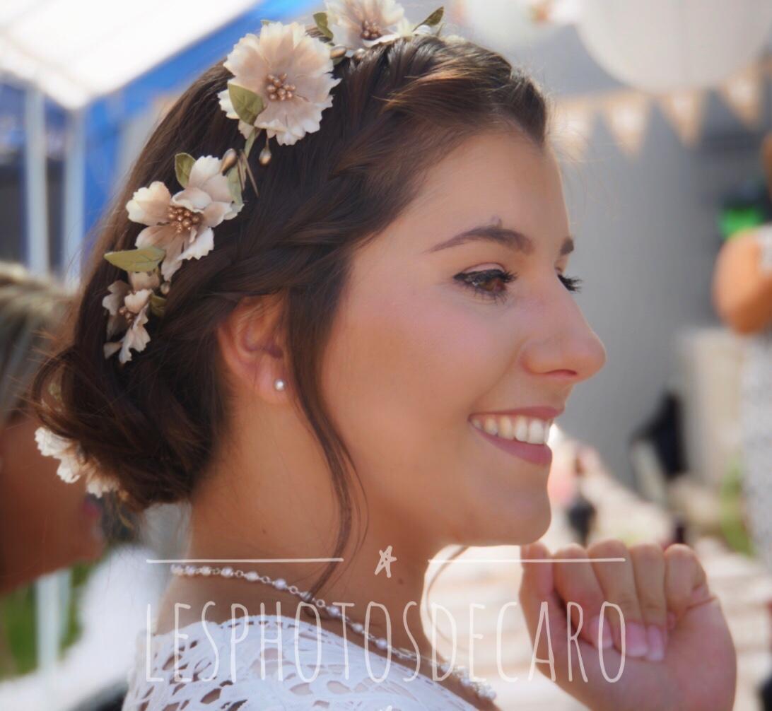 portrait mariage champetre